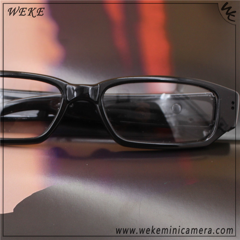 WEKE 720p HD Stylish Bodyworn glasses dvr camera