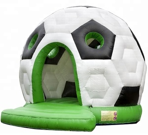 Most popular Inflatable Soccer Football Trampoline Moonwalk Bouncer for kids