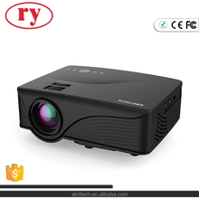 Newest 1200 Lumens Mini LED Multimedia LCD 800*480p Home Theater Projector