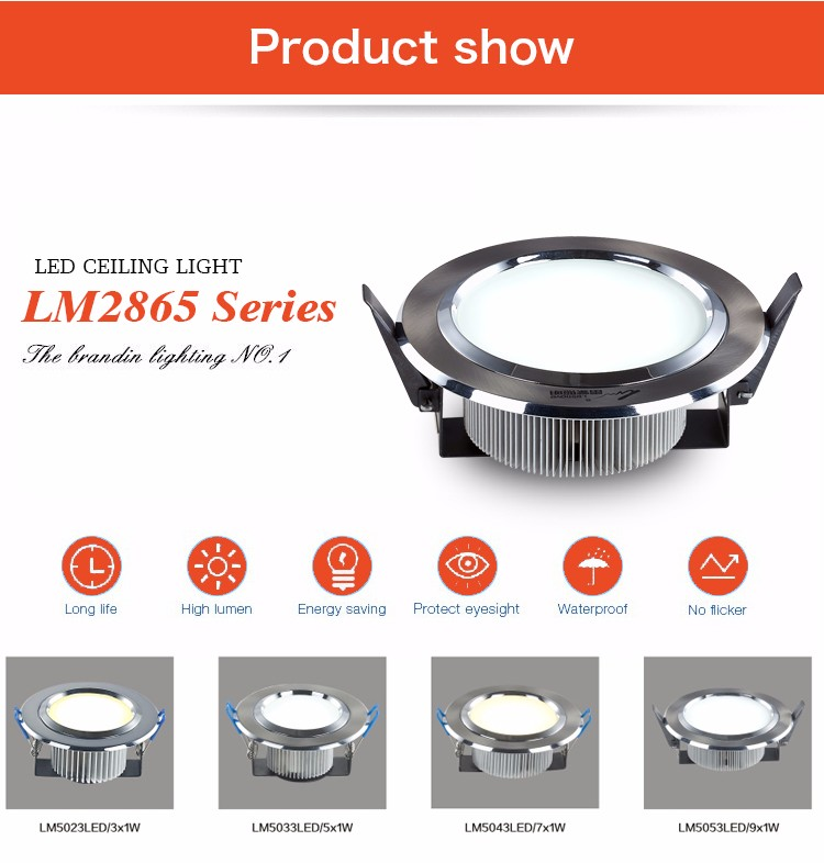 led recessed downlight ar111 oem/odm 15w dimmable downlight led