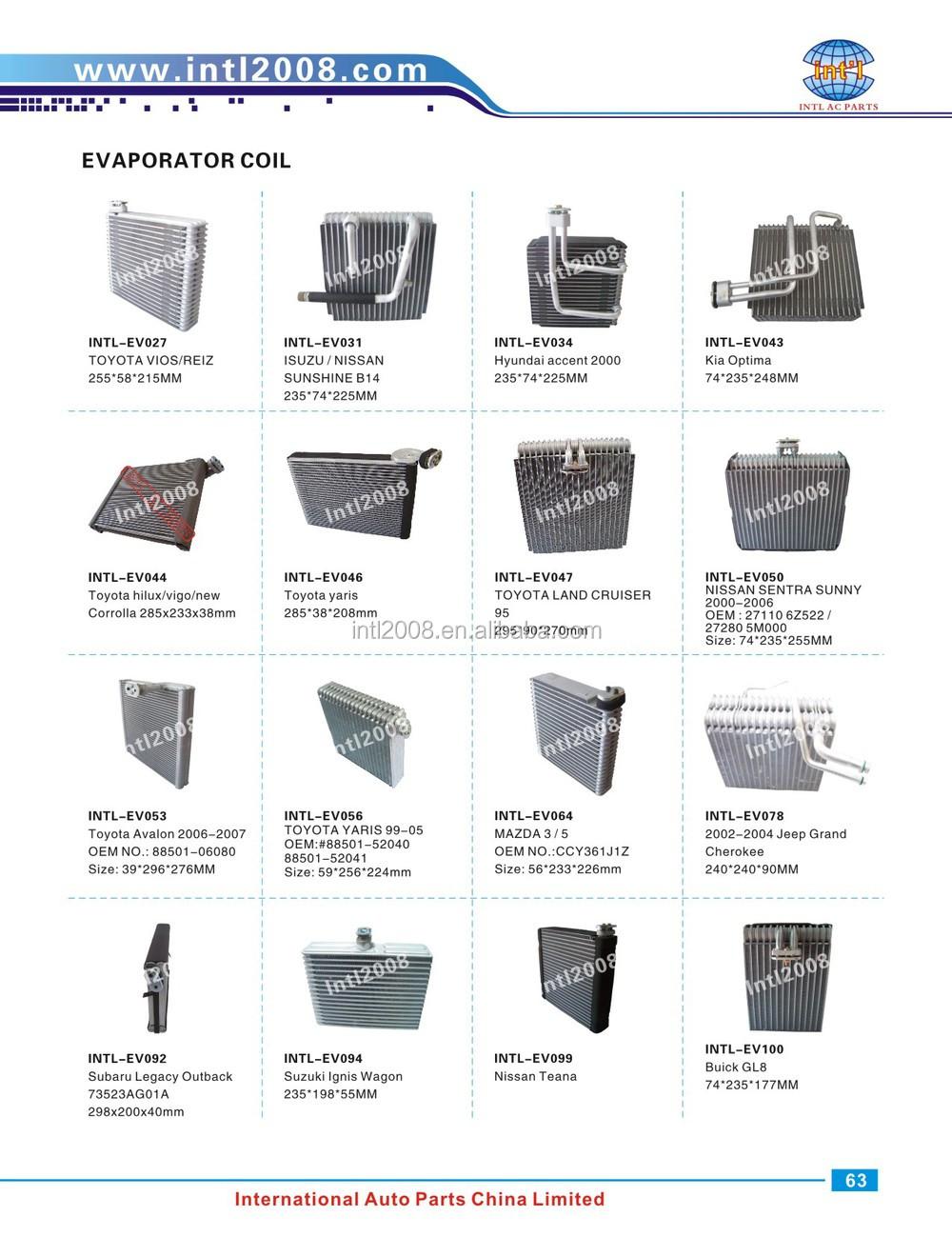 Air Conditioning Evaporator Coil Fit For Kia Rio 1.2 1.4 ...