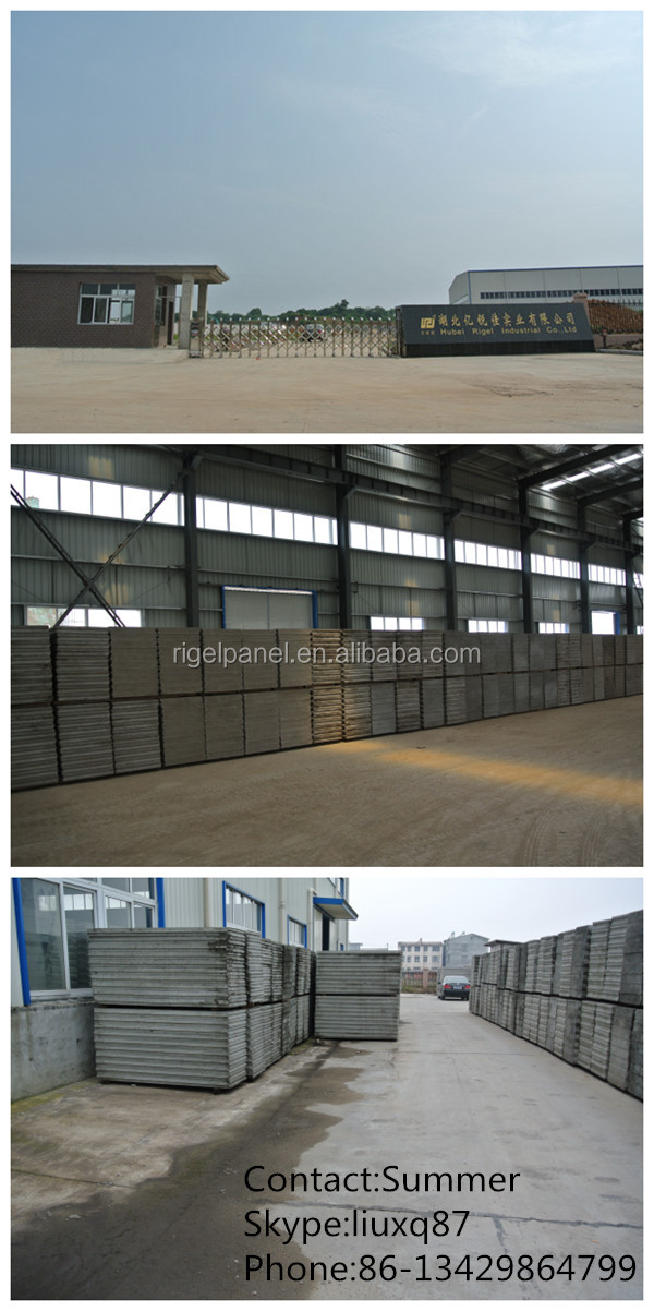 Prefabricated Interior Partition Walls Polyurethane Sandwich Panel ...