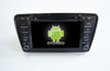 Quad core!car dvd with mirror link/DVR/TPMS/OBD2 for 8 inch touch screen quad core 4.4 Android system VW SKODA OCTAVIA