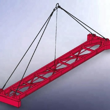 20ft Mechanical Container Spreader Lifting Beam For Standard Container -  Buy Spreader Lifting Beam,Lifting Beam,Container Spreader Lifting Beam