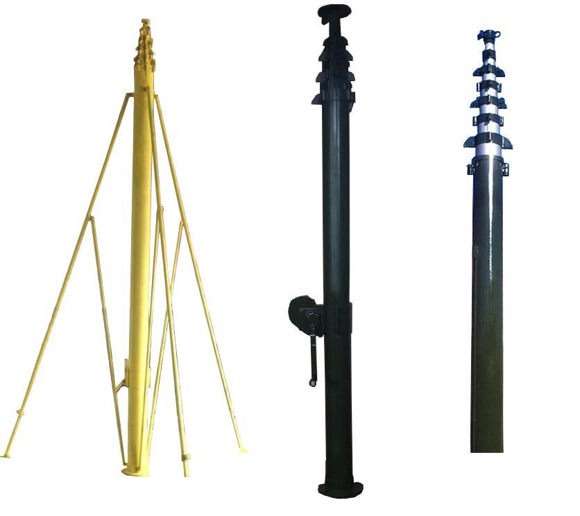 20m-30m Mobile Telescopic Manual Crank Up Antenna Mast Tower For  Communication Ham Radio - Buy Crank Up Telescopic Mast,Mobile 20m  Telescopic Antenna