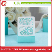 Laser Cut Filigree Tiffany BLUE Wedding Bridal Party Bomboniere Favour Boxes