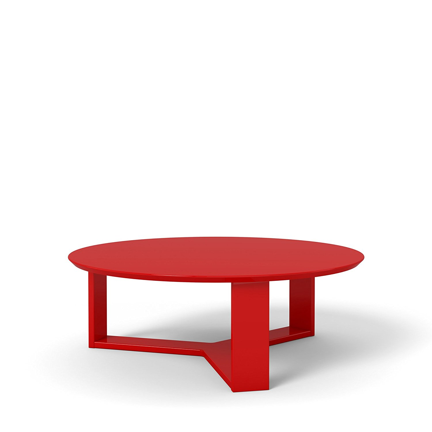 Get Quotations · Manhattan Comfort Madison 1.0 Coffee Table Collection  Round Living Room Coffee Table Accent Table, 35