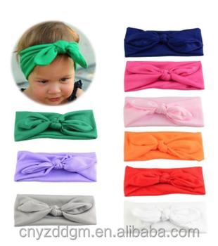 Baby Girl Plain Headbands With Bows - Buy Girl Headbands 36fb2be2f85