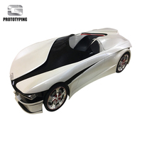 Custom Plastic electroplating parts china plastic prototype maker cars model prototype