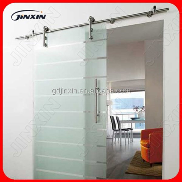 de acero inoxidable sin marco puerta corredera de cristal puertas correderas de cristal templado