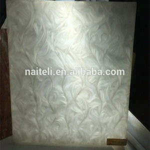 Night Bar Countertop Mother of Pearl Plastic Board