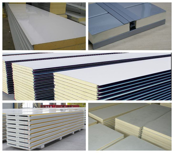 Interior And Exterior Wall Sandwich Panel:heat Insulation Foam ...