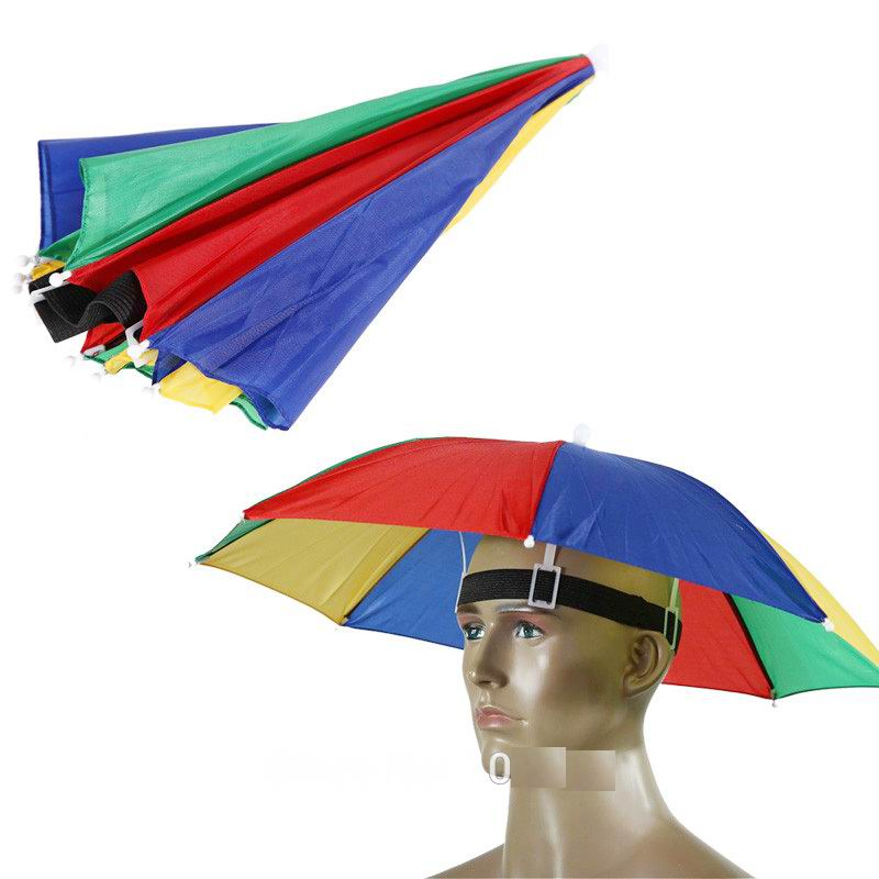 302bcc6fe5209 Promotional Custom Head Umbrella Hat - Buy Umbrella Hat