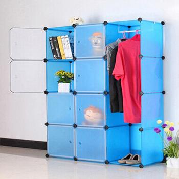 DIY Modular Cube Storage Cabinet System Rack Shelf Wardrobe Box FH AL0040