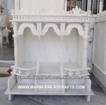 White Marble Carved Indoor Temple Buy Marble Home Indian Temple White Marble Mandir Mandir For