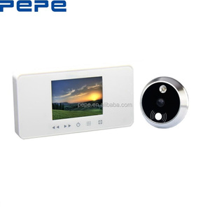 Super door video peephole,digital door eye viewer,maple chase doorbell
