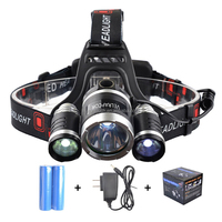 YM-3095-1 Powerful LED Headlight 2000 Lumens Rechargeable Running Headlamp