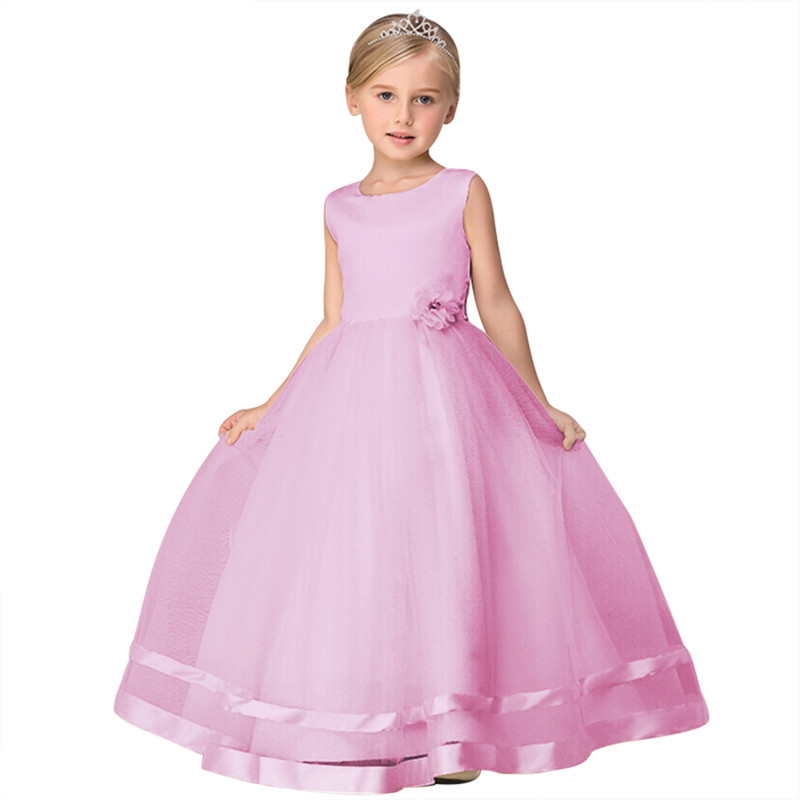 buy sale best selling sleek Latest Baby Net Frock Young Girls Party Wear Long Dress With High ...