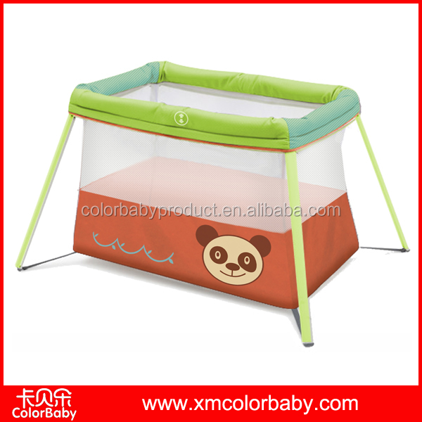 2016 new design portable light baby travel cot BP20E