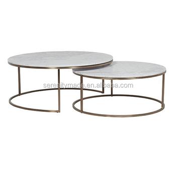 Fair Inlaid Modern Golden Stainless Steel Coffee Table Leg