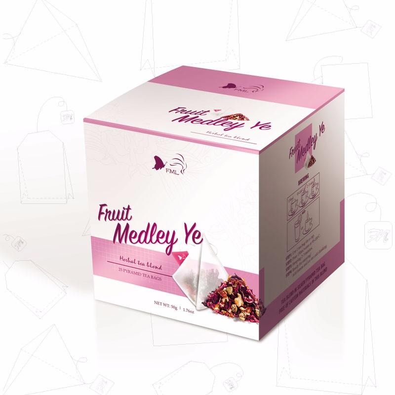 Fruit Medley Ye Flower Herbal Blend Tea - 4uTea | 4uTea.com