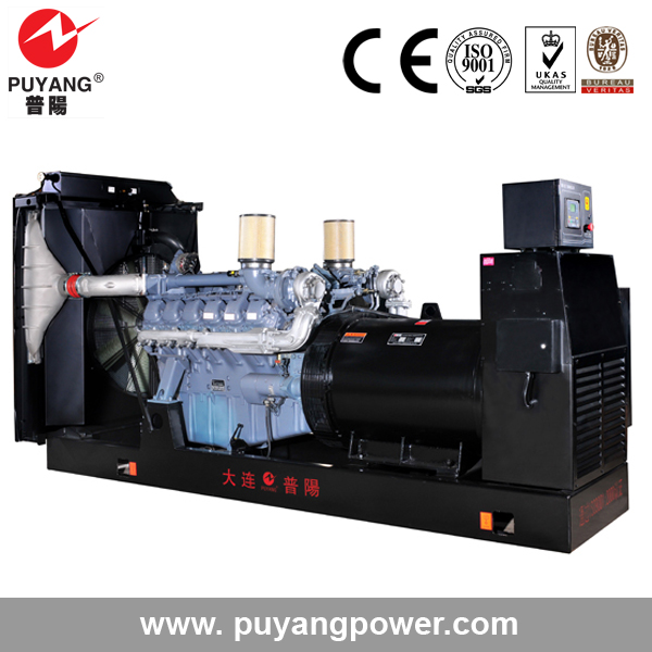 German MAN engine power diesel industrial electric generator