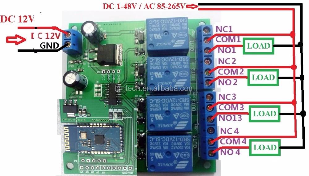 HTB19.AxQpXcAaq6xXFo  Channel Wireless Remote Control Wiring Diagram on