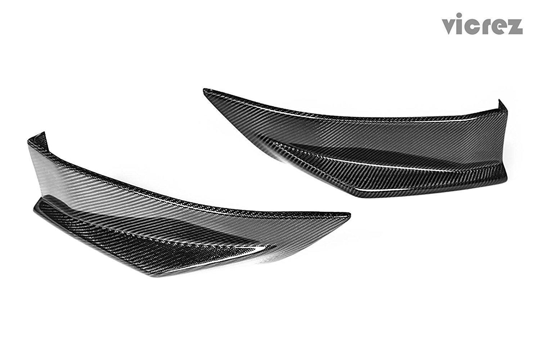 Vicrez Scion FRS / Subaru BRZ 2013-2016 VZ Carbon Fiber Rear Bumper Splitters - vz100450