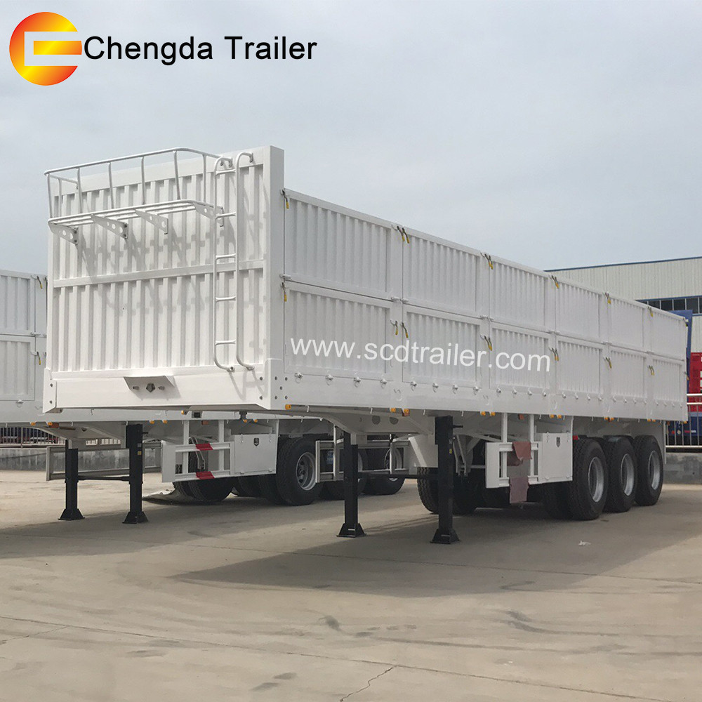 semi trailer wood transport trailer truck from China manufacture