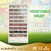 Outdoor fruits and vegetables vending machine cell cabinet