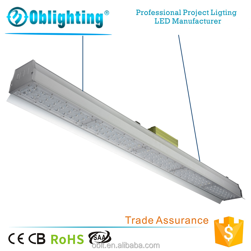 Industrial led lighting high bay linear light led fixture module 200w IP54