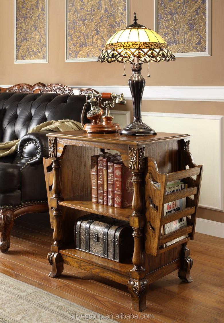 8019 92 Nuevo Dise O Libro De Madera Revistero Madera Maciza  # Muebles Tallados A Mano