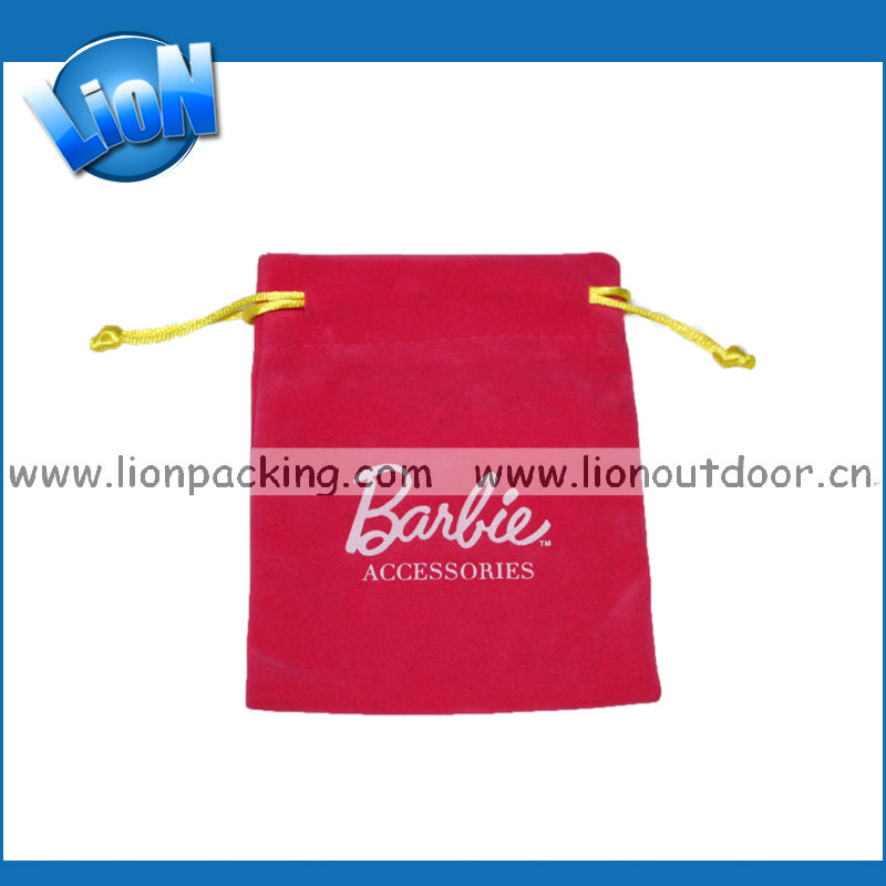 Best Prices Latest China velvet pouch / velvet jewelry pouch / velvet bag for golf tools gift jewelry for sale