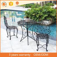 Westlake aluminum metal Bistro Set/outdoor furniture bar and lounge furniture
