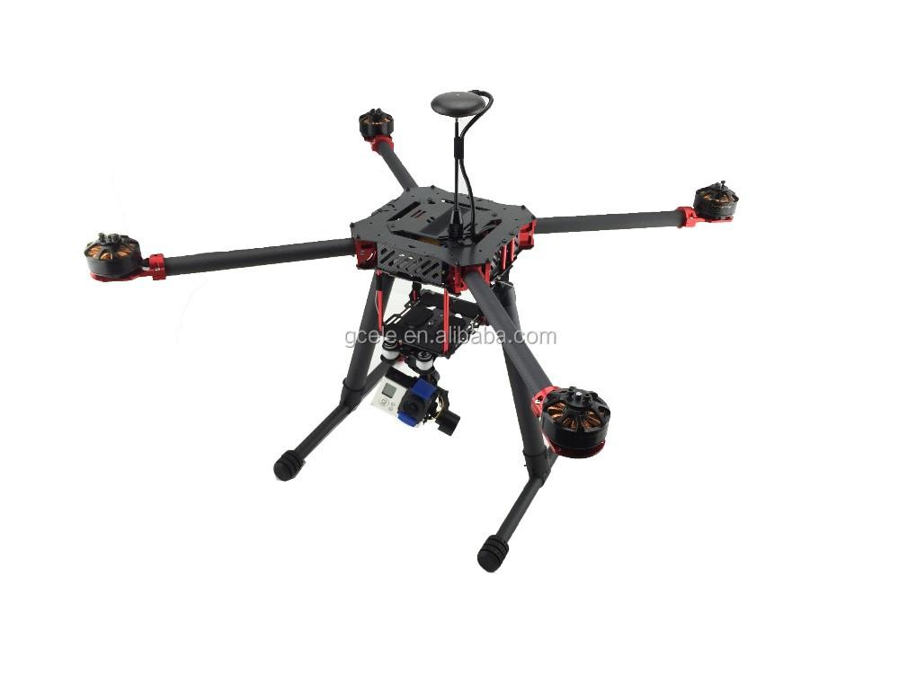 Jmrrc Qf650 Quadcopter Marco De Fibra De Carbono/kit 4 Ejes Diy ...