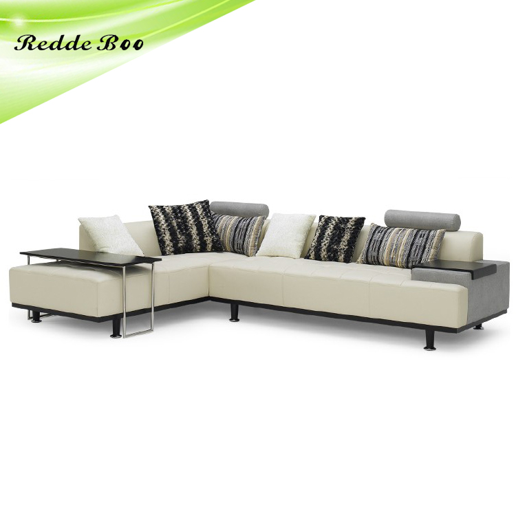 modern european pastoral fabric corner sofa home furniture sofa fabric leather