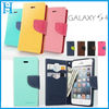 Hybrid leather flip case cover for samsung galaxy w s4 9500