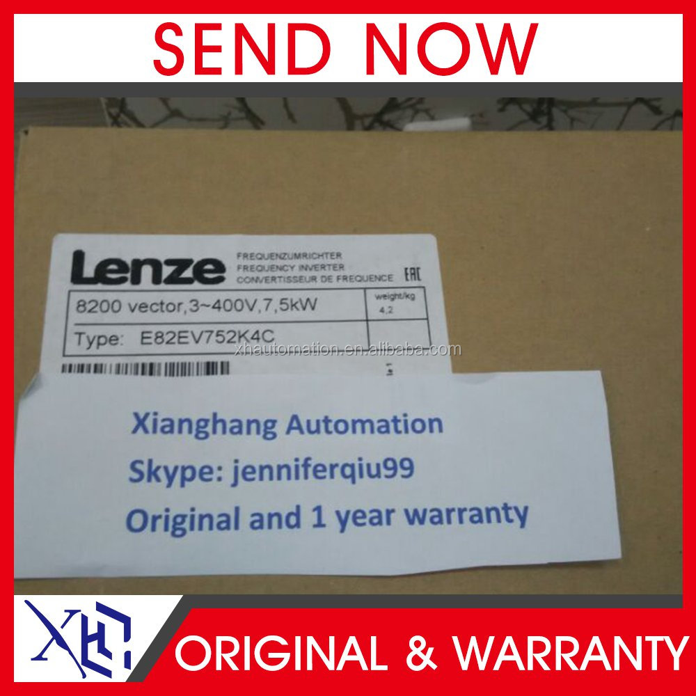 Lenze 8200 vector frequency inverter E82EV series inverter E82EV752K4C, E82EV752_4C