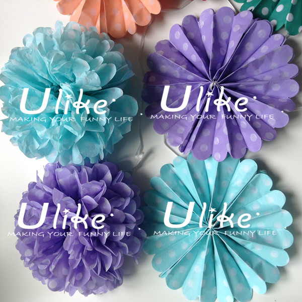 Diy Cute Fabric Handmade Artificial Festival Decoration Flower Pom ...