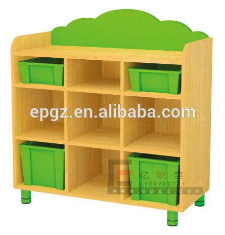Modern Daycare Furniture Wood Cupboard Kids School Lockers Mickey Mouse  Furniture