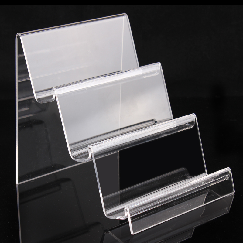 clear acrylic 3tiers phone display stand <strong>retail</strong>