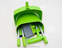 Wind proof dustpan and broom aluminium handle