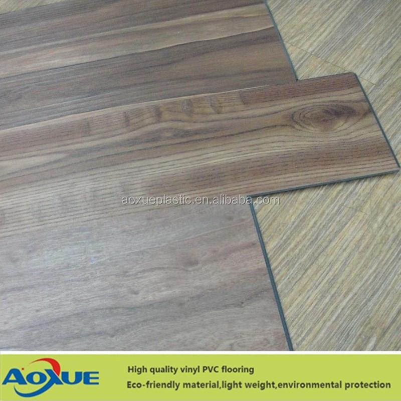 Wood Pvc Vinyl Plank Flooring Click