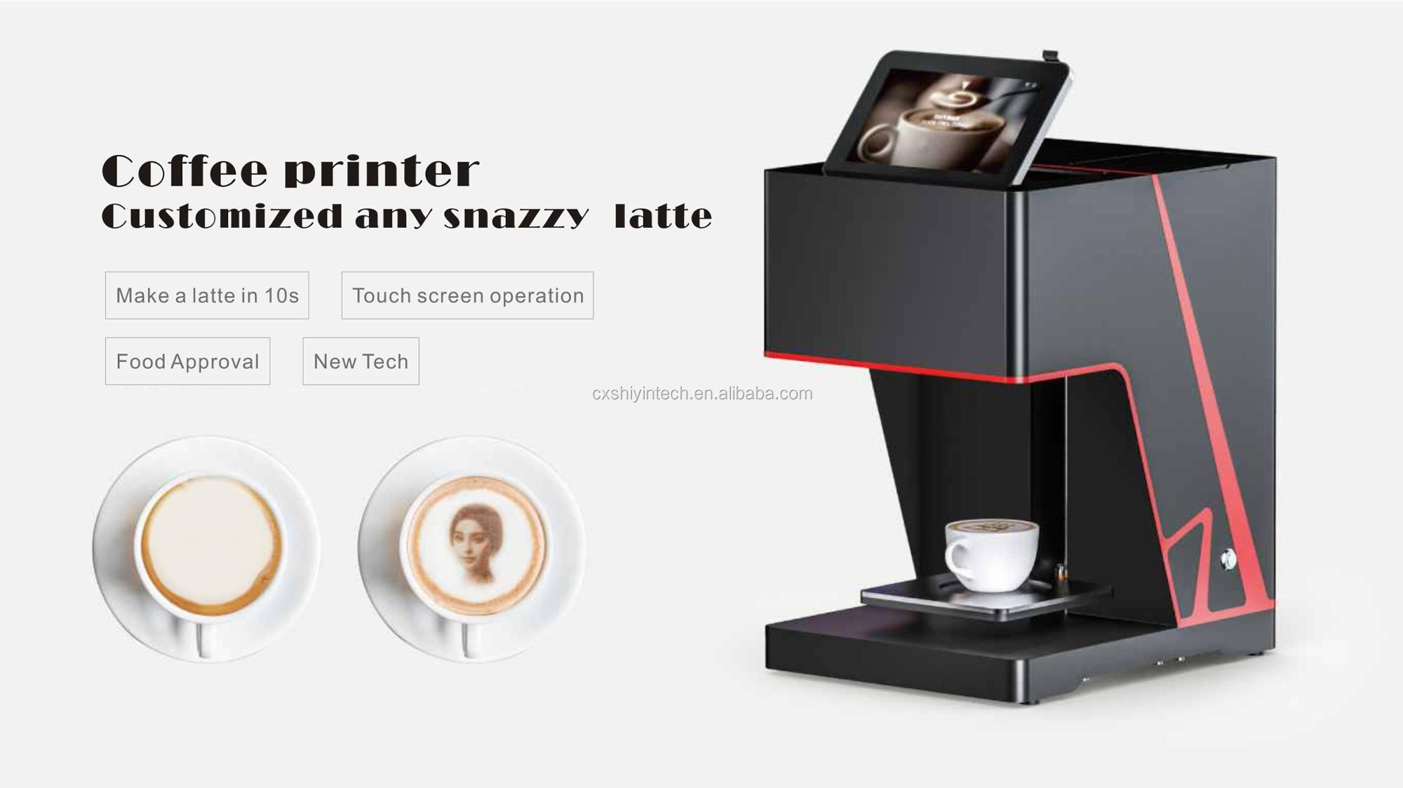New Tech Digital Food Coffee Printer