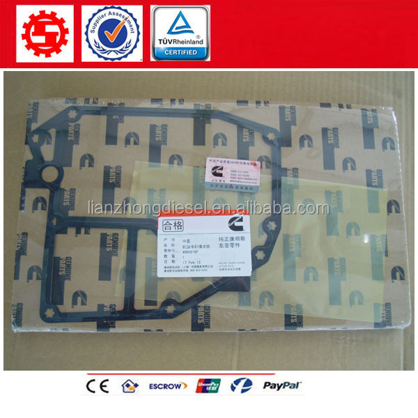 Foton cummins ISF2.8 ISF3.8 motor 4990276 oil filter gasket for truck