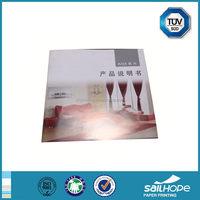 Useful promotional glossy custom electronic parts catalog