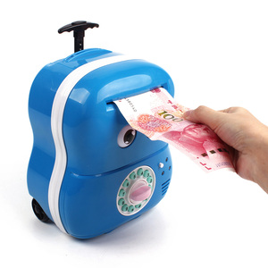 Wholesale Kids Cheap Coin Electronic Money Plastic Piggy Bank
