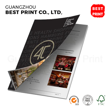 Perfect bound book and magazine printing Pixartprinting