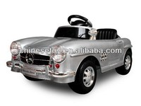 R/C & Foot-step Ride On Car 300SL with Music and Light Parental Control Car Baby Car