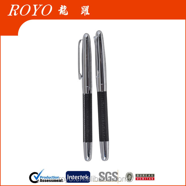 2014 High quality cap metal roller pen for promotion product